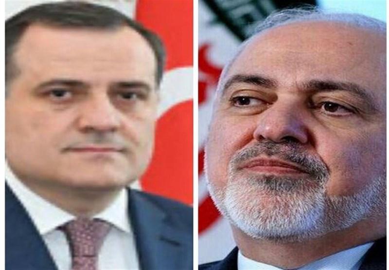 گفتگوی ظریف و وزیر خارجه جمهوری آذربایجان