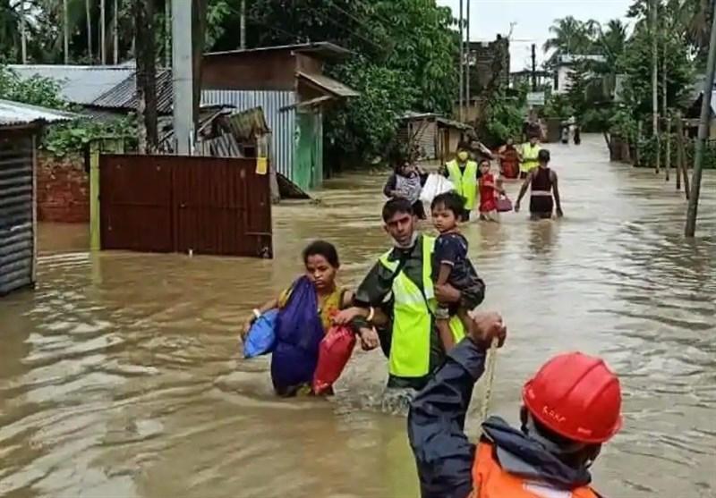 ادامه دردسرهای هند با آغاز بارانهای سیل آسا