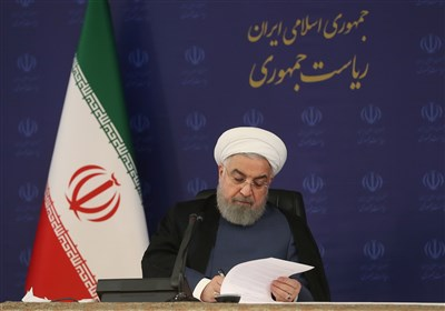 روحانی یدعو المجتمع الدولی الى مواجهة جرائم الکیان الصهیونی
