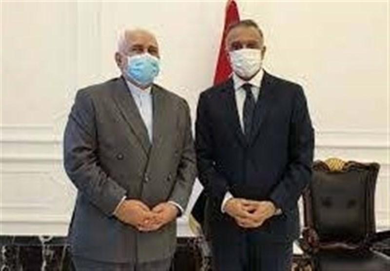 ظریف با نخستوزیر عراق دیدار کرد