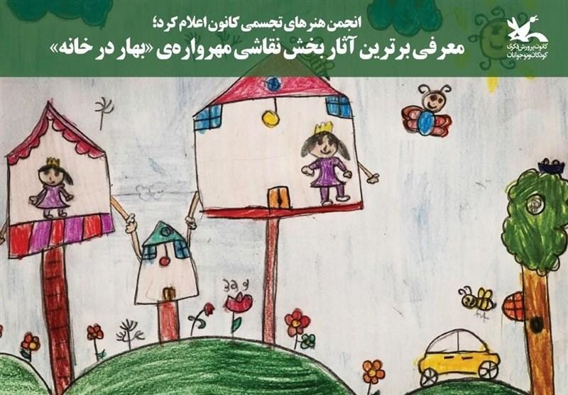 نقاشی از کرونا کودکانه