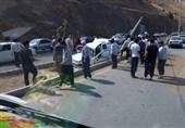 تصادف جاده «دهق» 10 کشته و مصدوم برجای گذاشت