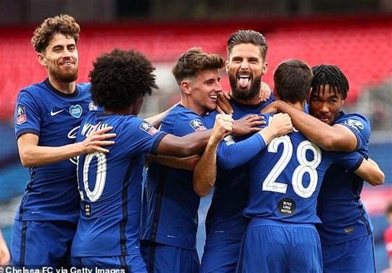جام حذفی انگلیس  چلسی با غلبه بر منچستریونایتد به ایستگاه پایانی رسید/ فینال تمام لندنی شد