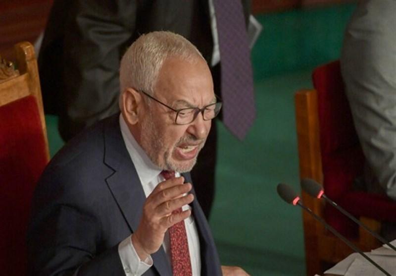 ممانعت رئیس پارلمان و نمایندگان تونس از ورود بهصحن پارلمان/ درخواست الغنوشی از مردم برای دفاع از نهادهای منتخب