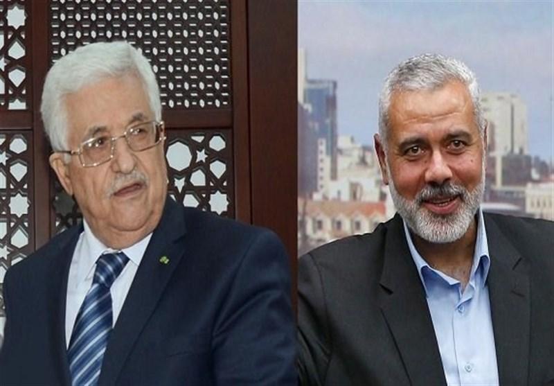 فلسطین  آغاز مرحله آشتی گروههای فلسطینی با حضور ابومازن و هنیه