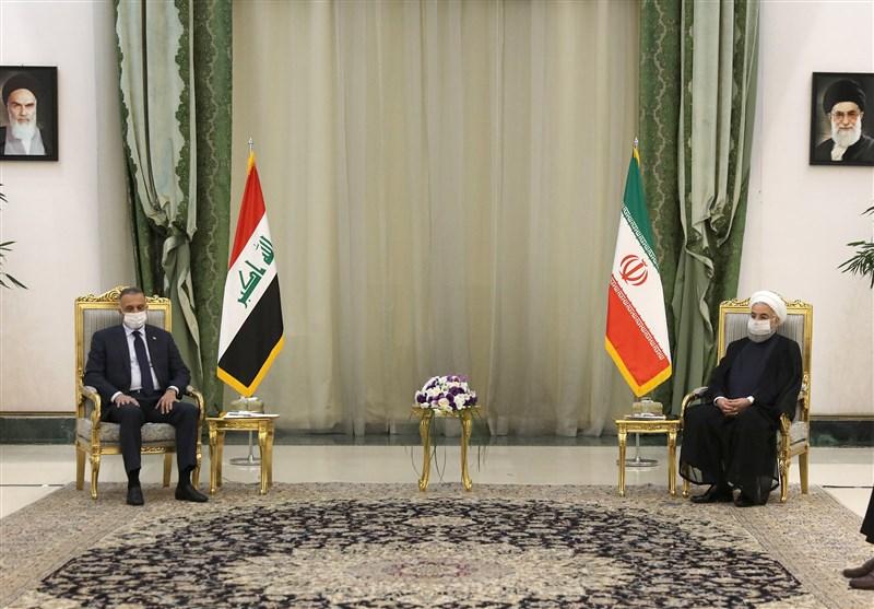 روحانی: از ایفای نقش برجسته عراق در شرایط حساس منطقه استقبال میکنیم