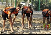 کمپ ملی بازیهای ساحلی در اردستان راهاندازی میشود
