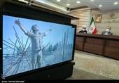 ارتباط زنده تصویری وزیر ارشاد با خانواده شهیدان حمیدی زاده