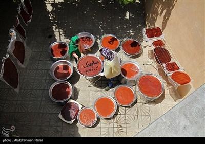 پخت لواشک خانگی در همدان
