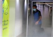 رونمایی از فاز اول تونل ضدعفونی در ورزشگاه آزادی