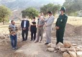 کهگیلویه و بویراحمد| چهارمین مرحله نجاتبخشی آثار تاریخی در سادات محمودی دنا آغاز شد