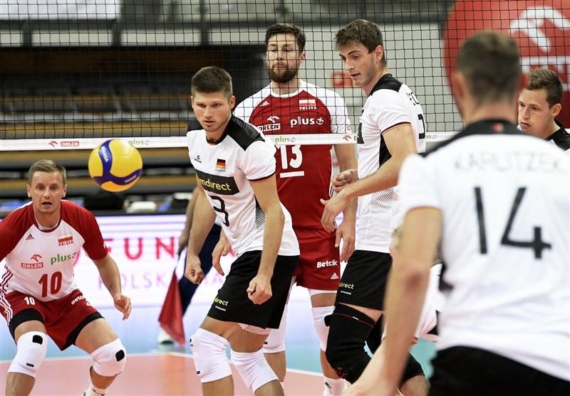دیدار دوستانه تیمهای ملی والیبال لهستان و آلمان