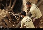 آذربایجان شرقی| گروههای جهادی برای تعمیرمنازل روستایی دچار رانش زمین شده دست به کار شدند