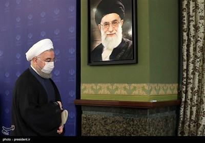 حجتالاسلام حسن روحانی رئیس جمهور در جلسه ستاد ملی مقابله با کرونا