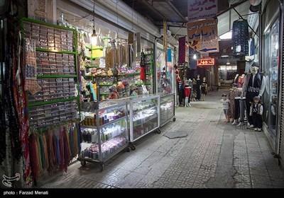 کسادی بازار سنتی کرمانشاه در اثر شیوع کرونا