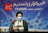 حضور نماینده ولی فقیه در امور حج و زیارت در خبرگزاری تسنیم + تصاویر