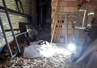 سقوط مرگبار کارگر جوان از طبقه چهارم ساختمان + تصاویر