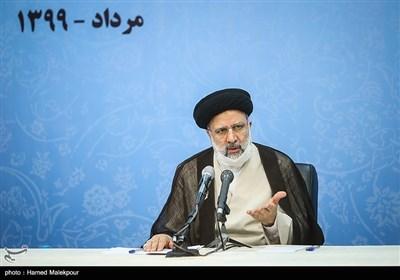 حجتالاسلام سیدابراهیم رئیسی رئیس قوه قضاییه در جلسه شورای عالی حفظ حقوق بیتالمال
