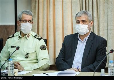 علی القاصی مهر دادستان تهران در جلسه شورای عالی حفظ حقوق بیتالمال