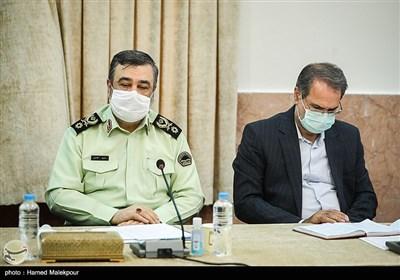 سردار حسین اشتری فرمانده نیروی انتظامی در جلسه شورای عالی حفظ حقوق بیتالمال