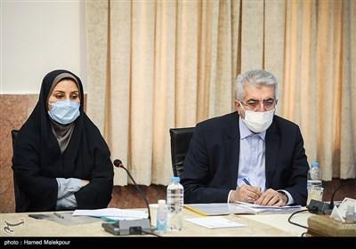 رضا اردکانیان وزیر نیرو در جلسه شورای عالی حفظ حقوق بیتالمال