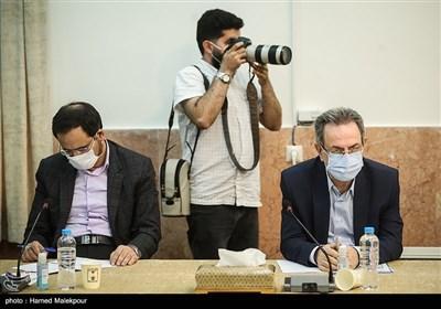انوشیروان محسنی بندپی استاندار تهران در جلسه شورای عالی حفظ حقوق بیتالمال