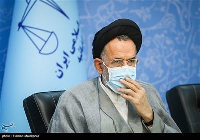 حجتالاسلام سیدمحمود علوی وزیر اطلاعات در جلسه شورای عالی حفظ حقوق بیتالمال