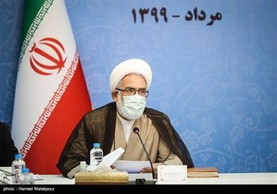 حجتالاسلام محمدجعفر منتظری دادستان کل کشور در جلسه شورای عالی حفظ حقوق بیتالمال