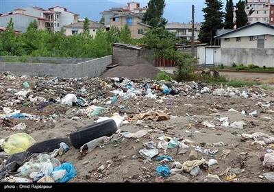 همنشینی زباله و ساحل در کلاچای گیلان