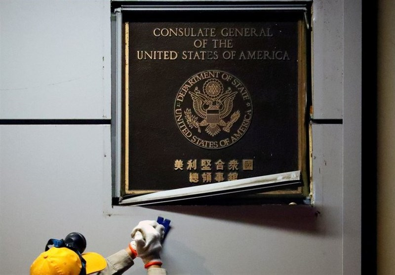 US Flag Pulled Down As Consulate in Chengdu Forced to Close (+Video)