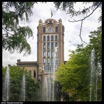 برج ساعت تبریز