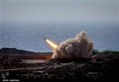 IRGC Fires Underground Ballistic Missiles in War Game