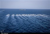 بزرگترین رژه بسیج دریایی با حضور 1000 شناور برگزار شد