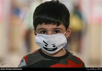 کودکان و ماسک