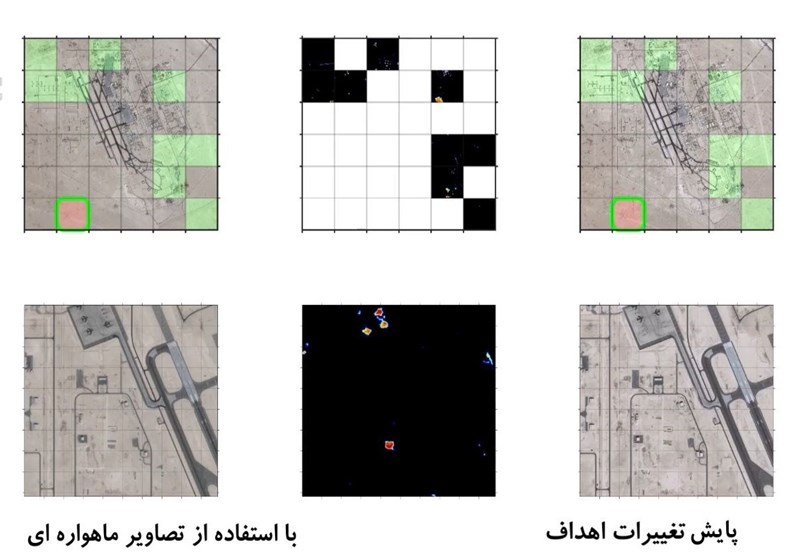 Images of US Base Taken by Iranian Satellite Used in IRGC War Game