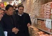 بازدید سرزده عمران خان از فروشگاههای مواد غذایی و نظارت بر قیمتها