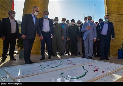 آیین افتتاحیه نمایشگاه دائمی موزه دفاع مقدس استان فارس