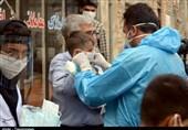 توزیع ماسک رایگان در محلات قرمز کرونایی تبریز + تصاویر