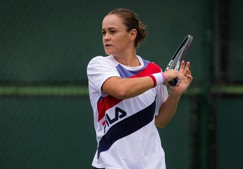 اشلی بارتی : به دلیل ترس از کرونا در تنیس آزاد آمریکا شرکت نمیکنم