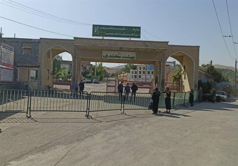 درهای بهشت محمدی سنندج بسته شد؛ شهروندان مراجعه نکنند