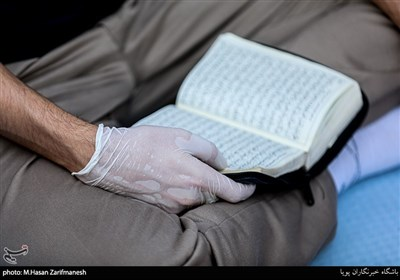 مراسم قرائت دعای عرفه
