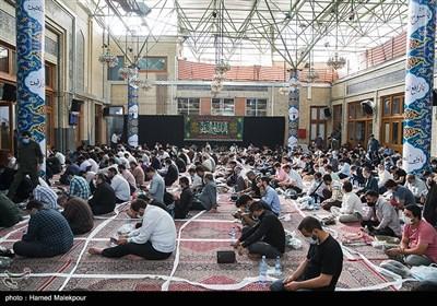 مراسم دعای عرفه امام حسین (ع) در مسجد ارک تهران