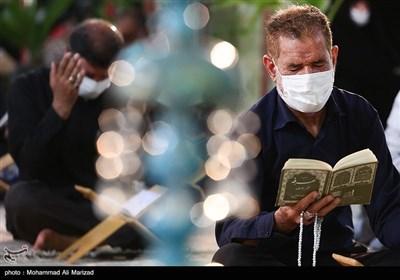 مراسم دعای عرفه در امامزاده محمد هلال بن علی - آران و بیدگل کاشان