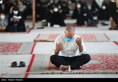 مراسم دعای عرفه در کیش