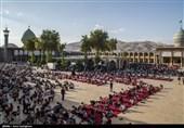 برگزاری دعای عرفه در حرم مطهر شاهچراغ(ع) به روایت تصویر