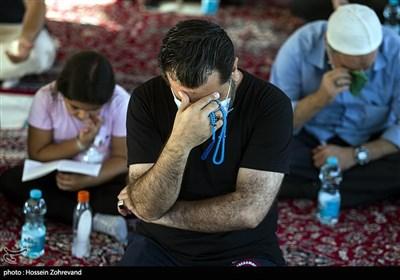 مراسم دعای عرفه در گلزار شهدای یافت آباد