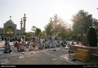 خطبه های نماز عید سعید قربان در امامزاده پنج تن لویزان