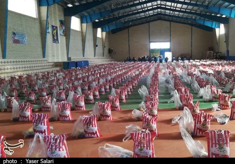 آغاز مرحله دوم رزمایش مواسات در استان البرز/ توزیع 35 هزار بسته معیشتی بین نیازمندان + فیلم