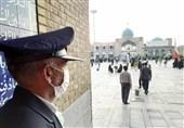 دعای عرفه در کنار حرم حضرت جعفر بن موسی الکاظم (ع) طنین انداز شد+ تصویر