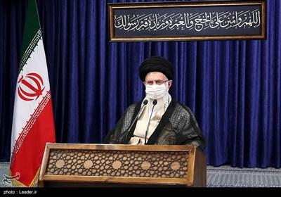 سخنرانی تلویزیونی رهبر معظم انقلاب به مناسبت عید سعید قربان
